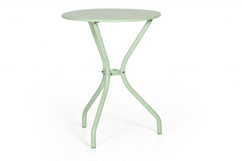 Odessa café bord Ø 60 ljusgrön Hultarps Inne & Utemöbler